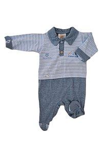 Macacão Infantil - Azul Claro - Din Don