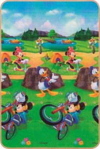 Tapete Disney Trip Mickey 120 x 180 cm - Jolitex