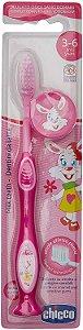 Escova de Dentes 3-6y - Rosa - Chicco