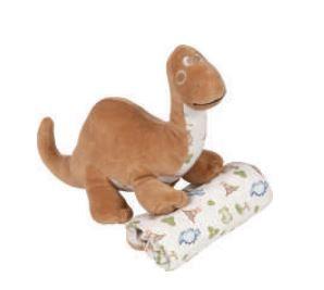 Toy com Manta - Dino - Anjos Baby