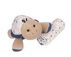 Toy com Manta - Safari Tartaruga - Anjos Baby