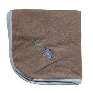 Manta Suedine 80 x 80 cm - Dino - Anjos Baby