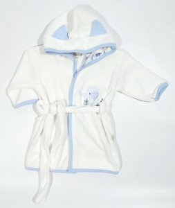 Roupão com Capuz - Elefante - Anjos Baby