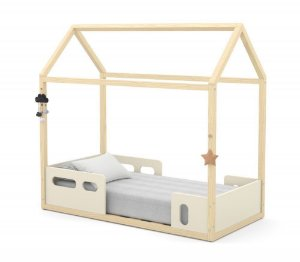 Mini Cama Montessoriana Liv - Off White/Natural - Matic