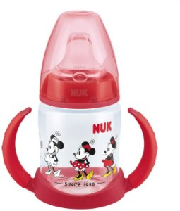 Copo de Treinamento First Choice 150 ml com Alça 6-18m - Disney Minnie - Nuk