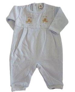 Macacão Infantil Masculino - Branco/Ursos - Doce Melado