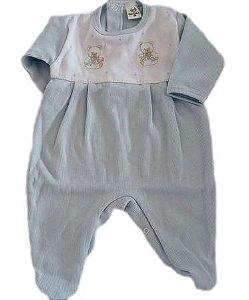Macacão Infantil Masculino - Azul/Ursos - Doce Melado