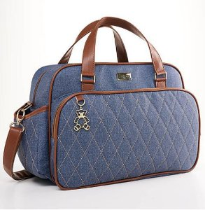 Bolsa Maternidade Chicago - Jeans - Just Baby