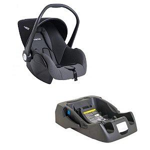 Bebê Conforto Casulo Clik 415 Com Base - Preto - Kiddo