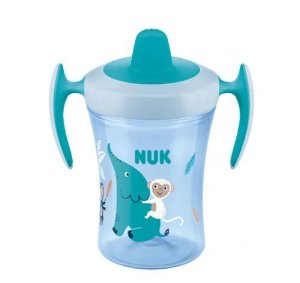 Copo Evolution Trainer Cup 6+m 230ml - Animais/Azul - Nuk