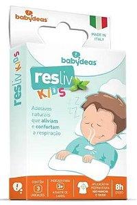 Resliv Kids - Adesivos para Alívio e Conforto Nasal - Babydeas