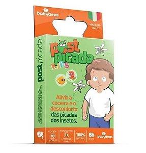 Post Picada Kids - Adesivos para Alívio das Picadas dos Insetos - Babydeas