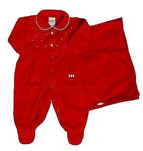 Saída Maternidade Feminina - Vermelho - Sonho Mágico