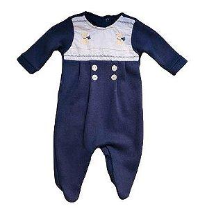 Macacão Infantil Masculino - Azul/Ursos - Kidstar