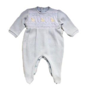 Macacão Infantil Masculino - Azul Claro/Patinhos - Kidstar