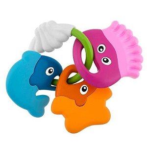 Chocalho Animais Marinhos - Colorido - Chicco
