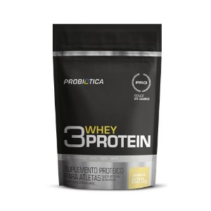 3 Whey Protein 825g refil