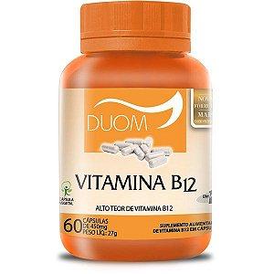 Vitamina B12 Duom 60 cásulas