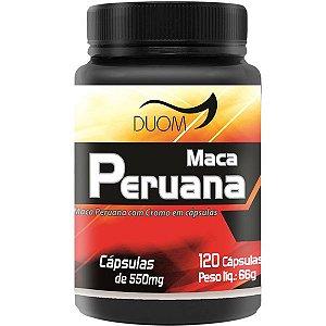 Maca Peruana Duom 120 cápsulas 550mg