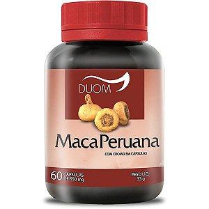 Maca Peruana Duom 60 cápsulas 550mg