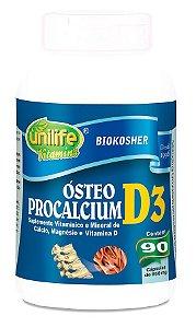 Ósteo Procalcium D3 Unilife 90 cápsulas