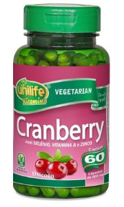 Cranberry Unilife 60 cápsulas 500mg