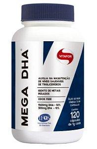 Mega DHA 120 cápsulas Vitafor