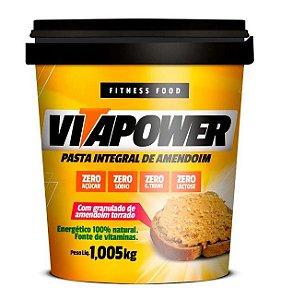 Pasta de Amendoim 1Kg Crocante Vita Power