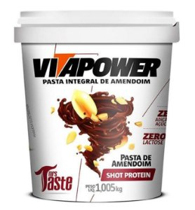 Pasta de Amendoim 1Kg sabores Vita Power