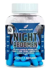 Night Abdomen 60 cápsulas Bodyaction
