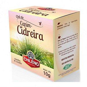 Chá de Capim-Cidreira 10 sachês Chileno