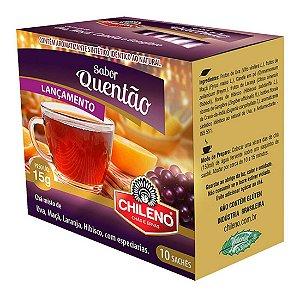 Chá Quentão de Ervas 10 sachês Chileno