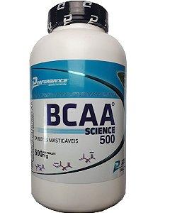 BCAA Science 500 Mastigável 200 tabletes Performance