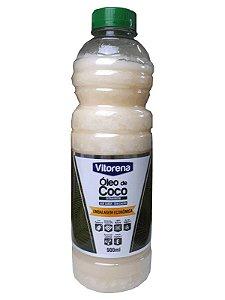 Óleo de Coco sem sabor e sem cheiro 900ml Vitorena