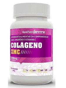 Colágeno ZMC 90 comprimidos 1200mg Apisnutri