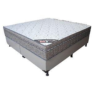 Cama Box Queen Ortobom Airtech Progressive Molas Nanolastic 158x72X198