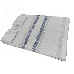 Colchonete D20 Luxo Casal com Travesseiro ProDormir - 128x5x188