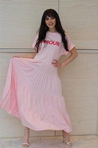 Vestido Amour Rose