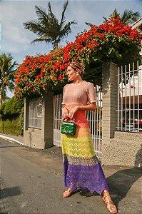 Vestido Midi Degradê