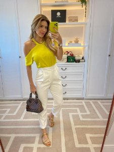 Blusa Belle Amarela