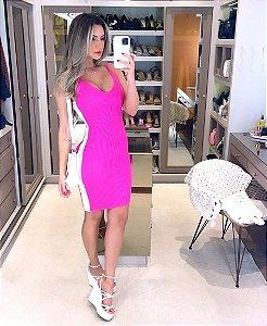 Vestido de Tricot Malibu Pink