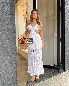 Vestido Longo Noronha Branco
