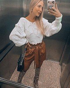 Blusa de Tricot Branca