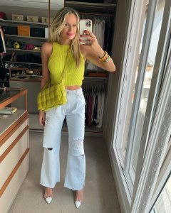 Cropped Tricot Neon