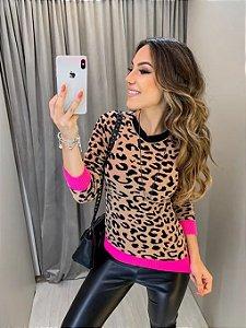 Blusa de Tricot Tigresa Pink