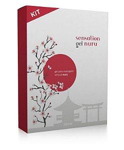 Kit para Massagem Sensual Sensation Gel