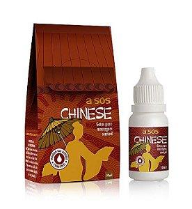 Gel Excitante Feminino Comestível em Gotas Chinese - 10ml