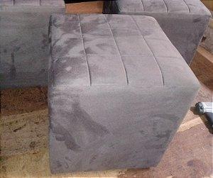 Puff Quilting cinza grafite