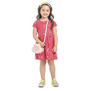 Vestido Infantil Kamylus Estampado