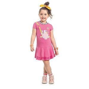 Vestido Infantil Kamylus Cotton Leve